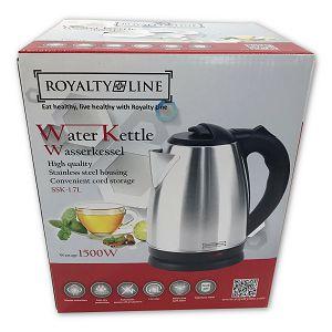 Kuhalo za vodu inox 1,6L 1500W Royalty Line