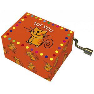 Kutija glazbena For You with cat melodija: Happy Birthday Fridolin 584070