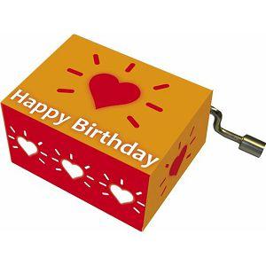 Kutija glazbena Heart with aureola melodija:Happy Birthday Fridolin 584056