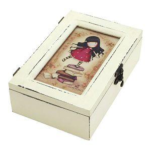 Kutija ukrasna drvena pravokutna New Heights Gorjuss 520GJ03