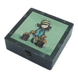 Kutija ukrasna drvena The Foxes Gorjuss 304GJ08