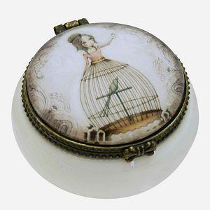 Kutija ukrasna keramička Lost Song Mirabelle 516EC01