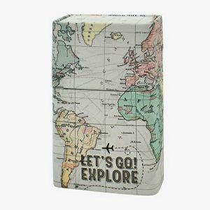 KUTIJA za cigarete limena Legami - Map