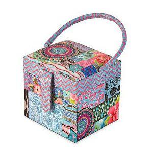 Kutija za nakit 10x9x9,5 cm indian Alistair
