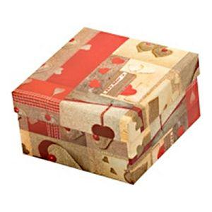 Kutija za poklon Love 11.6x11.6x6.9cm