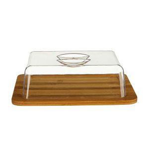 Kutija za sir od bambusa, 26x20x7.3cm 5five Simply Smart 519936