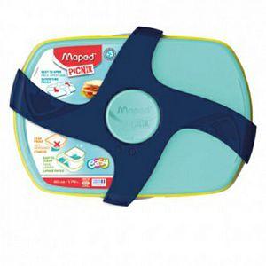 Kutija za užinu Maped Concept, tirkizno plava