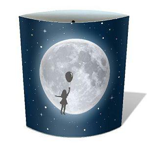Lampa Ballon Girl noćno svjetlo, na baterije, 16x14.5cm Chic Mic 851975