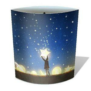 Lampa Star noćno svjetlo, na baterije, 16x14.5cm Chic Mic 852088
