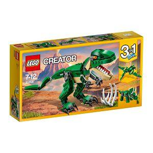 LEGO Kocke Creator 3u1 Moćni dinosauri 31058