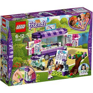 LEGO KOCKE Friends Emmino postolje za umjetnička djela 41332, 6-12
