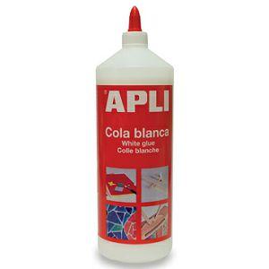 Ljepilo Apli 1000g 12851, bijelo ljepilo za papir, karton, drvo i keramiku
