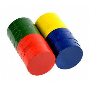 Magnet fi25mm x 5mm debljina, u boji, pak. 20/1 Fandy 572671