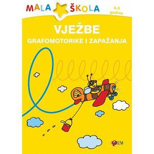 Mala škola Vježbe Grafomotorike i zapažanja 4-5god. 915341