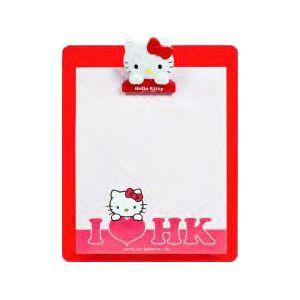 Mapa ataše podložna Hello Kitty držač papira na vrhu+blok 50 listova, 15x13cm