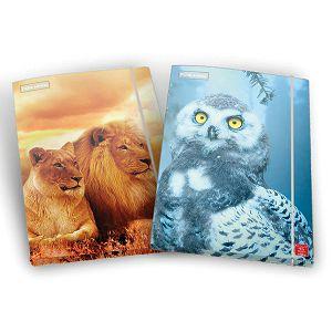 MAPA s gumicom A4 ANIMAL WORLD/ANIMAL Pigna1 15279, hrbat 1cm 2motiva