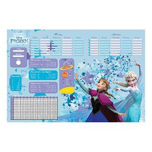 Mapa stolna školska Disney Frozen 63x42 cm