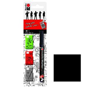 Marabu marker za mobitel, 1 - 2 mm crni