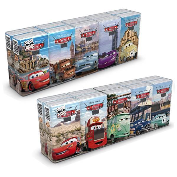 Maramice papirnate Cars 9/1 4-slojne