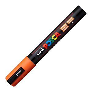 Marker UNI Posca PC-5M za hobby i art, vodootporan, 1.8-2.5mm narančasti
