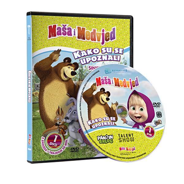 Maša i Medvjed DVD 1 - Kako su se upoznali 850352
