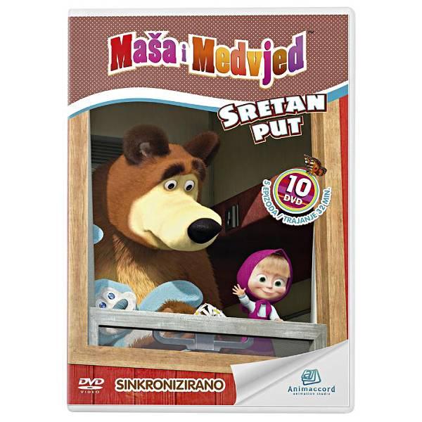 Maša i Medvjed DVD 10 - Sretan put 850925