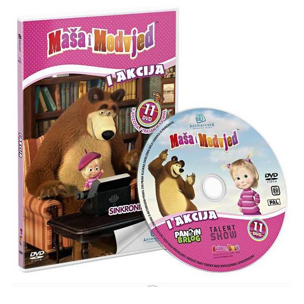 Maša i Medvjed DVD 11 - I akcija 851458