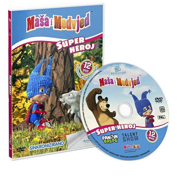 Maša i Medvjed DVD 12 - Super heroj 851465