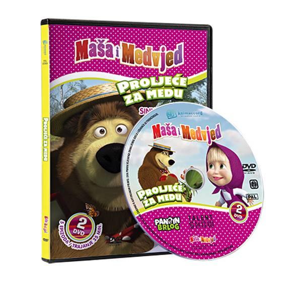 Maša i Medvjed DVD 2 - Proljeće za medu 850369