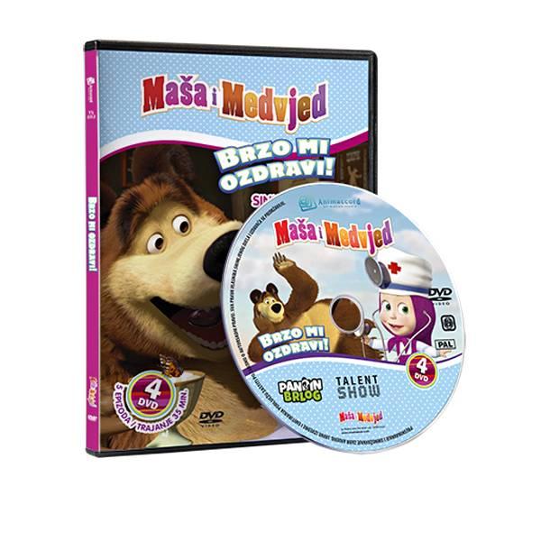 Maša i Medvjed DVD 4 - Brzo mi ozdravi! 850383