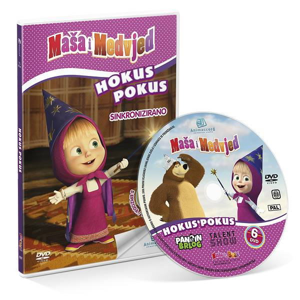 Maša i Medvjed DVD 6 - Hokus pokus 850758