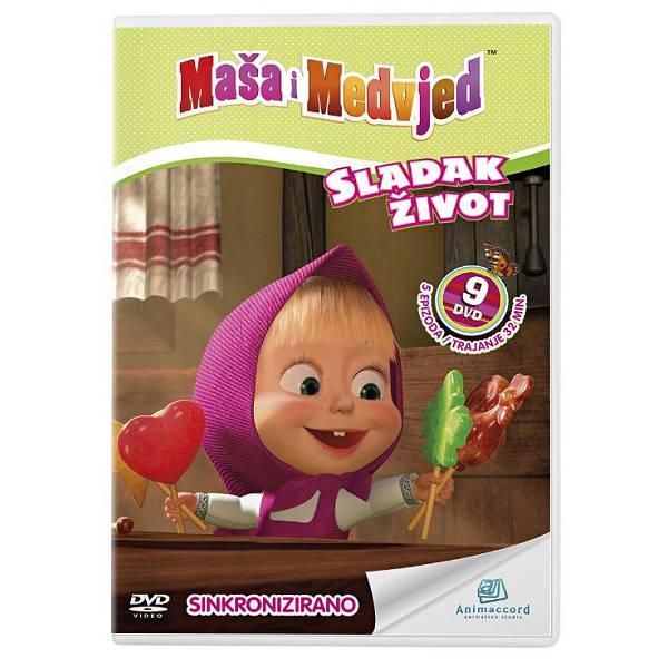 Maša i Medvjed DVD 9 - Sladak život 850918