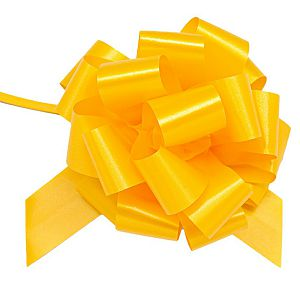 Mašna potezna 30mm Pastel žuta 1/1