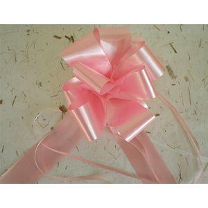 Mašna potezna 5cm roza 1kom