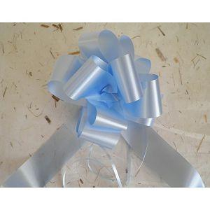 Mašna potezna 5cm svijetlo plava 1kom