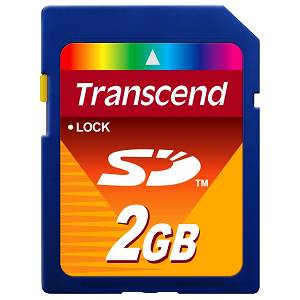Memory Card SD 2GB Transcend