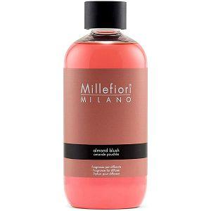 MILLEFIORI DIFUZOR Refil Natural 250ml Almond Blush 7REMAB