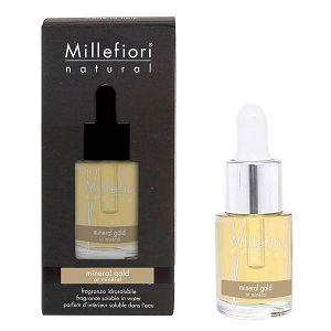 MILLEFIORI NATURAL 15ml, miris koji se otapa u vodi Mineral Gold 7FIMG