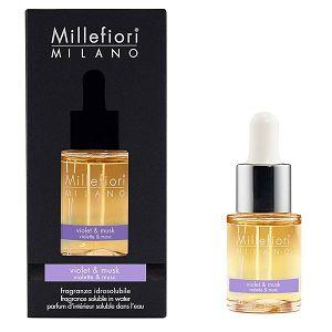 MILLEFIORI NATURAL 15ml, miris koji se otapa u vodi Violet&Musk 7FIVM