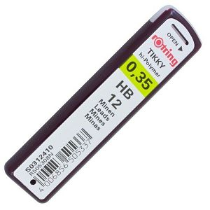 MINE 0.35mm HB ROTRING 12/1