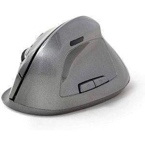 MIŠ GEMBIRD MUSW-ERGO-02, promjena brzine, 6 tipki, sivi, ergonomski