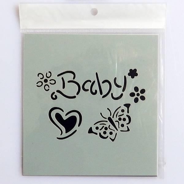 Motiv Baby šablona 11 x 11,5cm