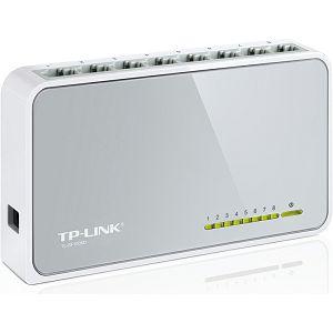 Mrežni switch TP-Link 8-port TL-SF1008D 8x10/100M RJ45 ports, plastično kučište