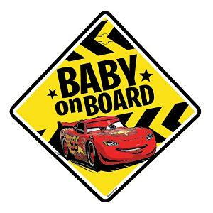 Naljepnica za auto Beba u autu Cars