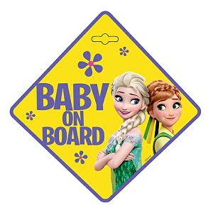Naljepnica za auto Beba u autu Frozen