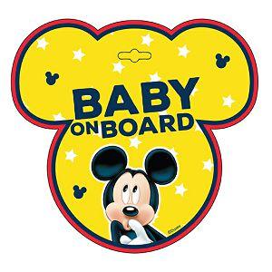 Naljepnica za auto Beba u autu Mickey
