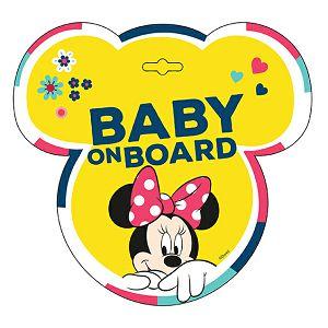 Naljepnica za auto Beba u autu Minnie