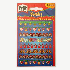 Naljepnice glitter božićne 2 lista Pritt KidsArt Henkel