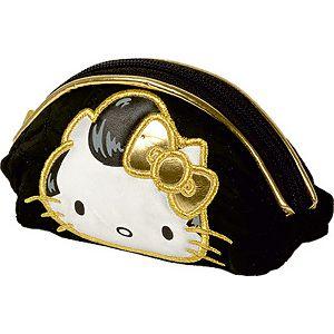 Nesseser kozmetička torbica Hello Kitty Gold 13x8.5x5cm 309266