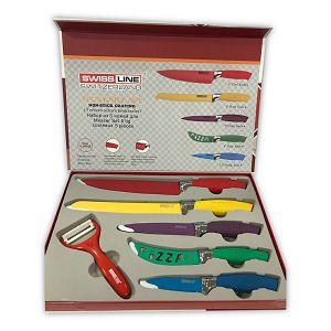 Noževi set 5/1 + nožić za guljenje Swiss Line